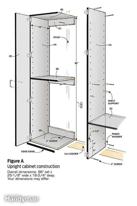 Building Garage Cabinets Yourself 25 Best Ideas About Garage Cabinets On Garage