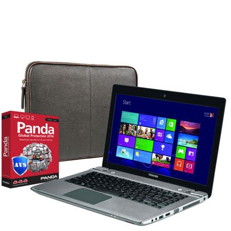 toshiba satellite touchscreen ultrabook laptop p845t 108 i3 4gb 500gb 14 inch hd led touch