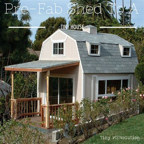 pre built tiny houses can a pre fab be made into a tiny house