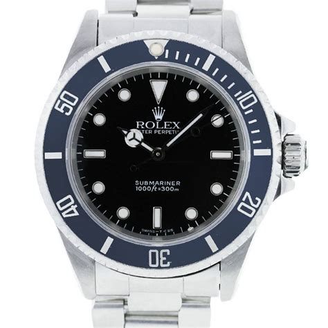 rolex submariner 14060 stainless steel mens boca raton