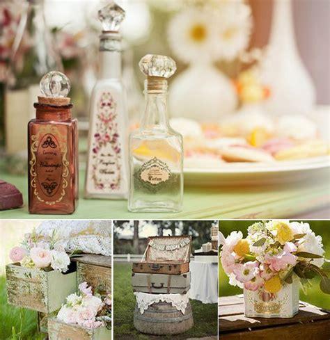 imagenes vintage bodas rincones vintage en tu boda ideas para decorar tu boda
