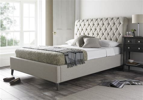 tufted king bed tufted headboard with antique mirror