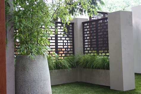 Metal Privacy Fence Panels With Minimalist Privacy Fence