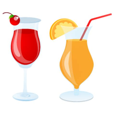 holiday cocktails png summer cocktails icon beach icons softicons com