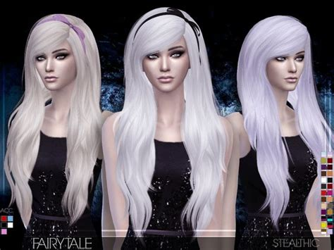 vanity female hair by stealthic at tsr sims 4 updates fairytale female hair by stealthic at tsr sims 4 updates