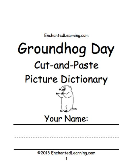 groundhog day worksheets groundhog printable book new calendar template site