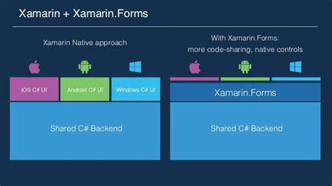 c what is the difference between xamarin form s getting started with xamarin forms