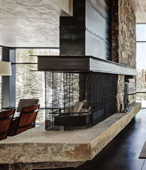 Two Sided by Best 25 Two Sided Fireplace Ideas On