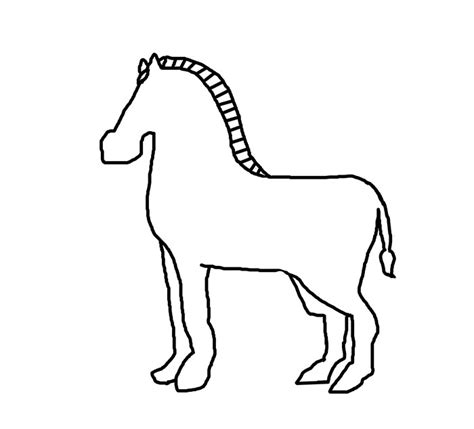 Zebra Outline Picture by Zebra Outline Www Pixshark Images Galleries With A Bite