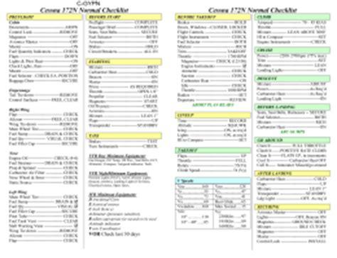 Normal Landing Of Cessna 172 cessna 172r s normal checklist