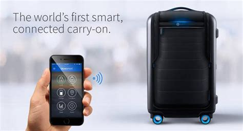 samsung and samsonite join hands to launch smart luggage