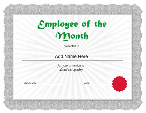 employee award certificate templates free employee certificates use iclicknprint certificate templates