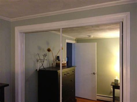 How To Paint Closet Doors Refinishing Gold Mirrored Closet Doors Frugalwoods