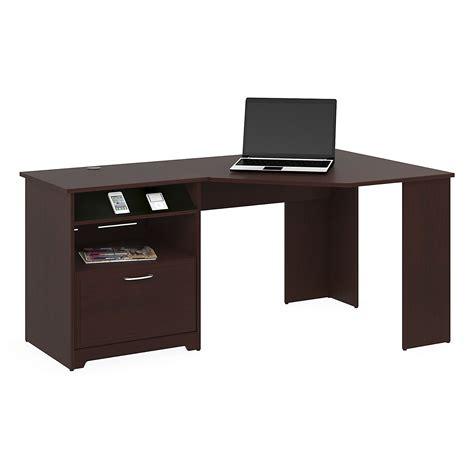 bush furniture cabot corner desk bush furniture wc31415 03 cabot collection harvest cherry