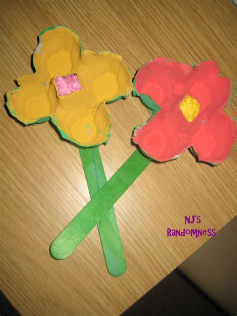 family crafts egg flowers family crafts