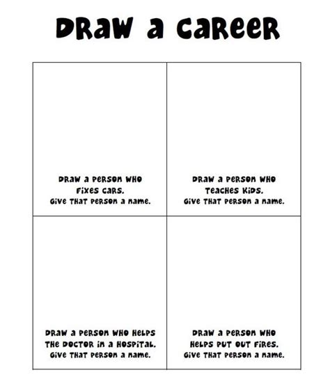 Career Day Worksheets by Teaching Career Exploration And The Kid On