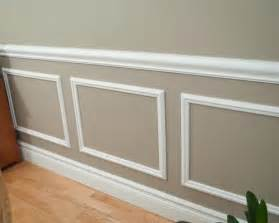 How To Make A Chair Rail On Wall - picture frame molding houzz