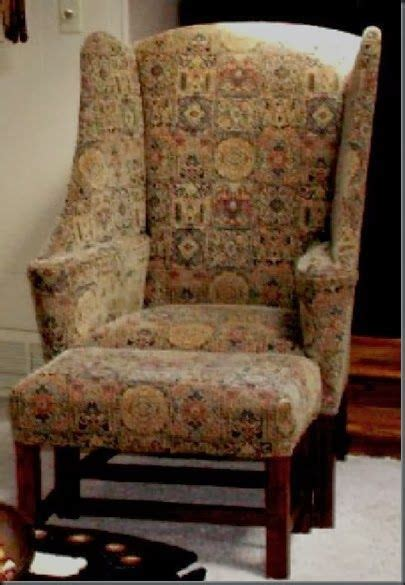chair  fr upholstered furniture colonial furniture
