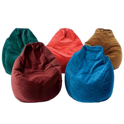 bean bag chaise teardrop beanbag chair flaghouse