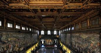 Decorate Large Wall Palazzo Vecchio In Florence Florence S City Hall Since
