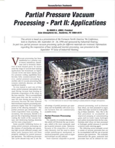 Partial Vacuum Pressure Vacuum Heat Treating Archives Page 2 Of 3 Solar