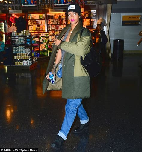 creature comforts ri rihanna trades in her stylish treads for a downright dowdy