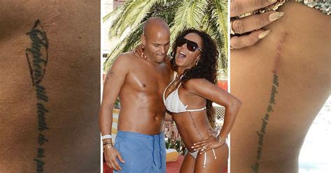 mel b tattoo mel b cuts out of ex husband stephen belafonte s