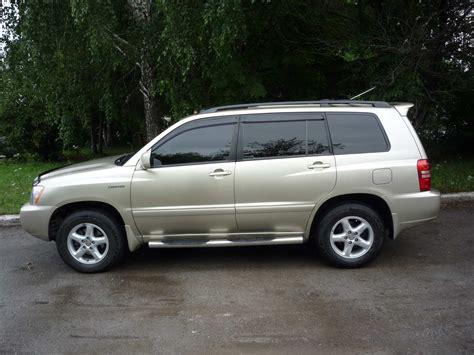 2002 Toyota Highlander 2002 Toyota Highlander Wallpapers 3 0l Gasoline
