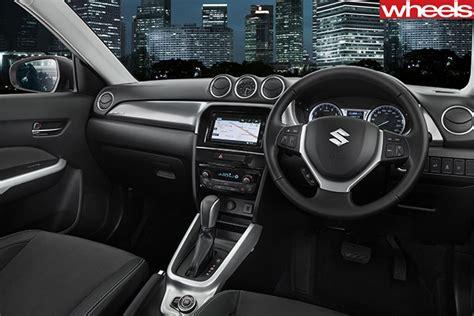 Suzuki Vitara Interior 2015 Suzuki Vitara Review