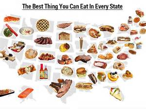 food map of the united states map best food in every state business insider