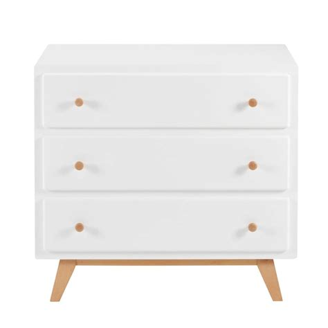 Commode Retro by Commode Vintage 3 Tiroirs Blanche Sweet Maisons Du Monde