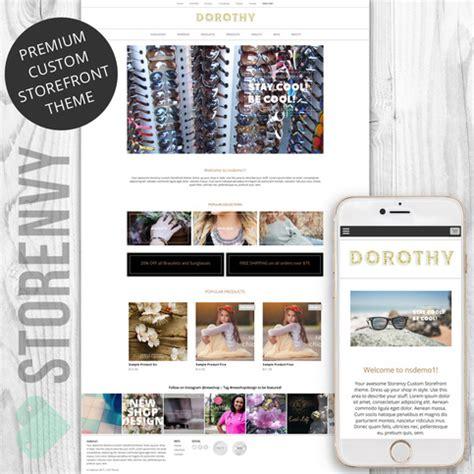 storenvy themes storenvy premium plus theme custom storefront dorothy