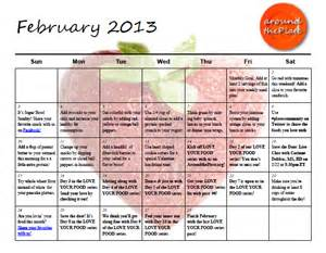 february 2010 u2013 happy healthy february s healthy happy calendar your edition