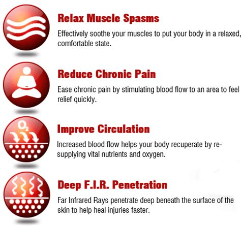 infrared light therapy benefits infrared heat therapy