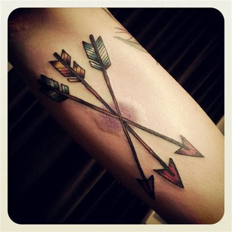 arrow tattoos and designs page 17