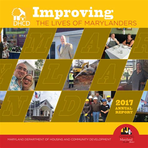 maryland department of housing and community development maryland department of housing and community development releases fiscal year 2017