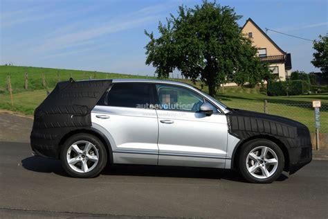 volkswagen audi 2018 volkswagen touareg spied benchmarking against audi q7