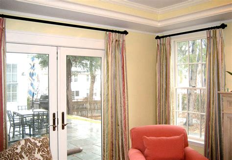 Sliding Patio Door Window Treatments Home Intuitive Window Treatments For Patio Slider Doors