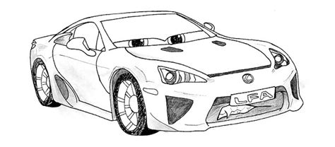 lexus lfa drawing livid lexus lfa s by therealkitt on deviantart