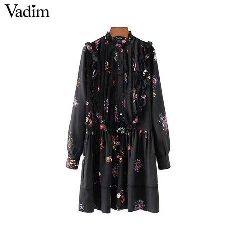 aliexpress vadim aliexpress com buy vadim ruffles lace patchwork floral