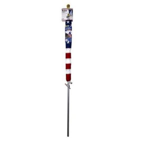 solar flag light home depot annin flagmakers mansion 3 ft x 5 ft nylon us flag with