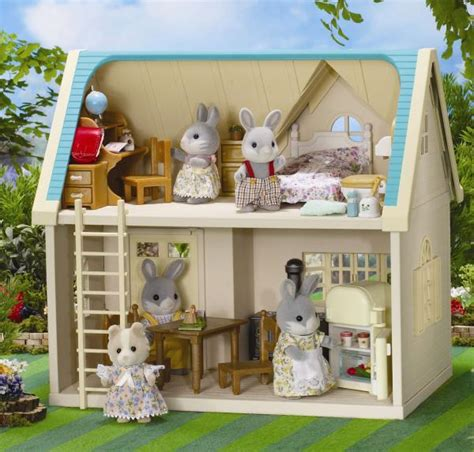Sylvanian Applewood Cottage by Sylvanian Family Applewood Cottage Toys Thehut