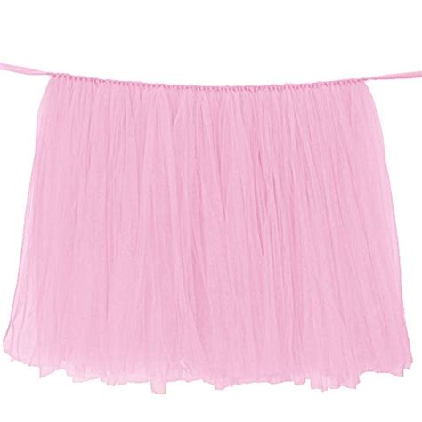 how to do a tutu table skirt no sew tulle table skirt tulle table skirt tulle table