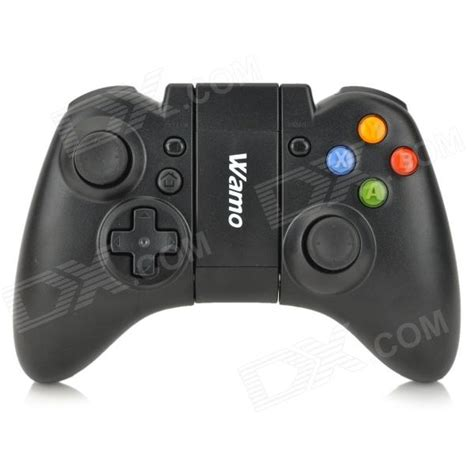 android gamepad wamo wireless bluetooth gamepad for android ios cell phone pc black free shipping