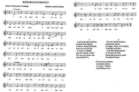noi canteremo gloria a te testo sant alfonso e dintorni 187 archiv 187 canti cuore