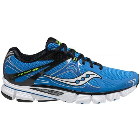 or running shoes mirage 4 minimalist road running shoes blue black citron