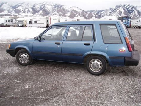 1987 Toyota Tercel Mpg Sell Used 1987 Toyota Tercel Dlx Wagon 4 Door 1 5l In