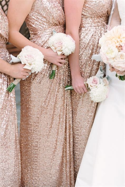 Rose Gold Vintage Glam San Diego Wedding   Aisle Society