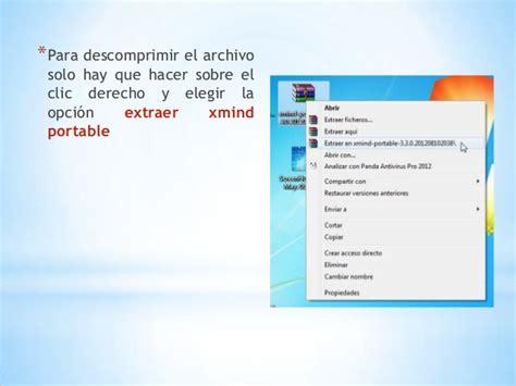 tutorial xmind 7 tutorial de xmind portable