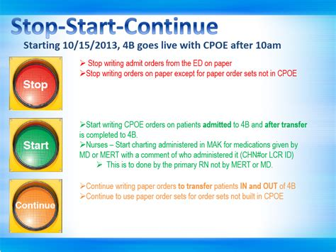keep stop start template change cpoe is live on 4b at 10am sfgh cpoe wiki ucsf